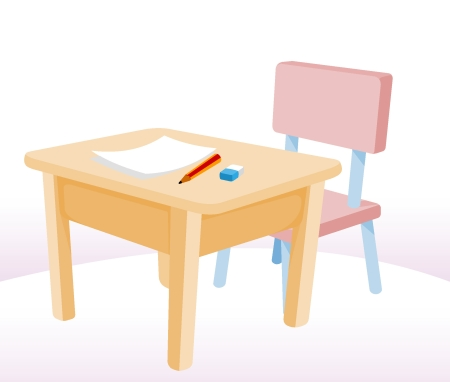 Student Desk Icon Desk icon